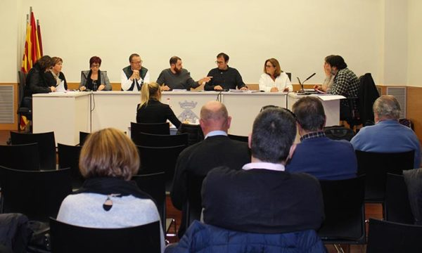 Castellvi - La Bustia - ple municipal