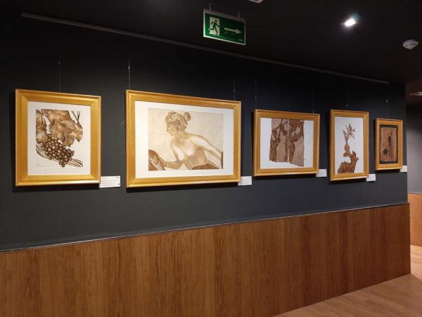 La Bustia Marta Arano pintures spa serena DoubleTree by Hilton Barcelona Golf Sant Esteve Sesrovires
