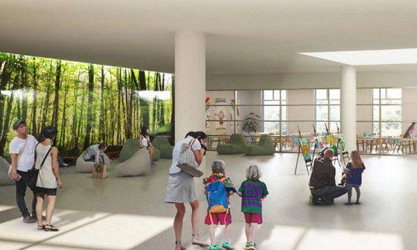 Martorell - La Bustia - colegi la merce edifici nou 1
