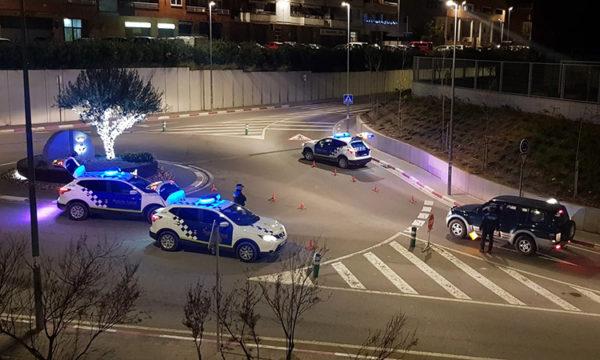 Olesa - La Bustia - control policial