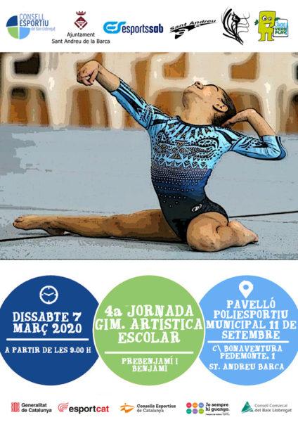 Cartell gimnastica artistica Sant Andreu