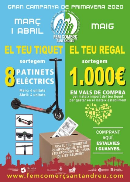La Bustia campanya comercial ACSSAB Sant Andreu de la Barca