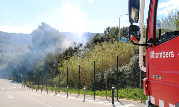 Martorell - La bustia - incendi