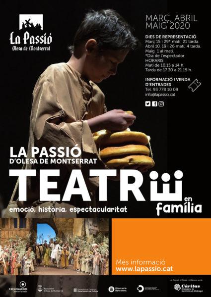 cartell La Passio - Olesa