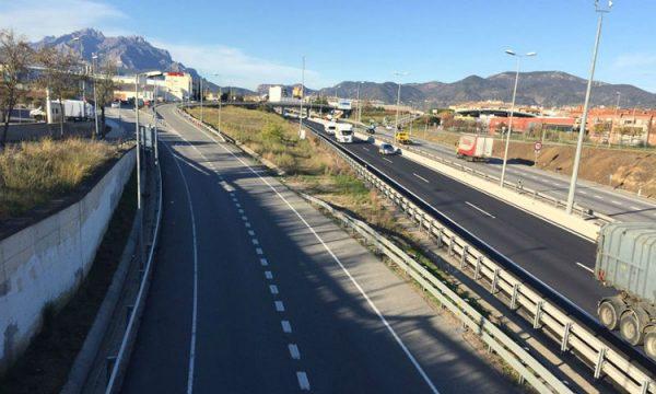 Abrera - La Bustia - autovia A2