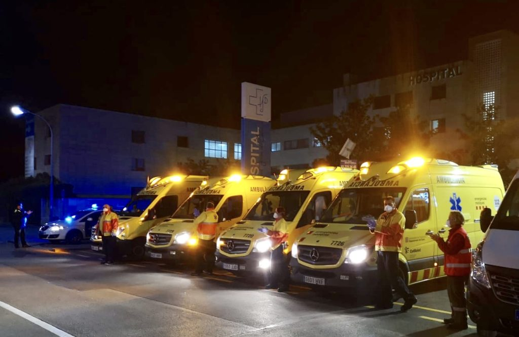 La Bustia ambulancies SEM Martorell