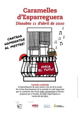 La Bustia cantada confinada Caramelles Esparreguera