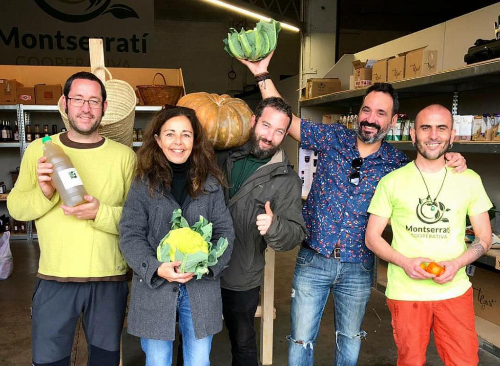 La Bustia inauguracio agrobotiga AgroMontserrati cooperativa Olesa