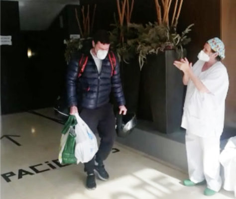 La Bustia primers pacients alta coronavirus Hotel Salut Ciutat Martorell