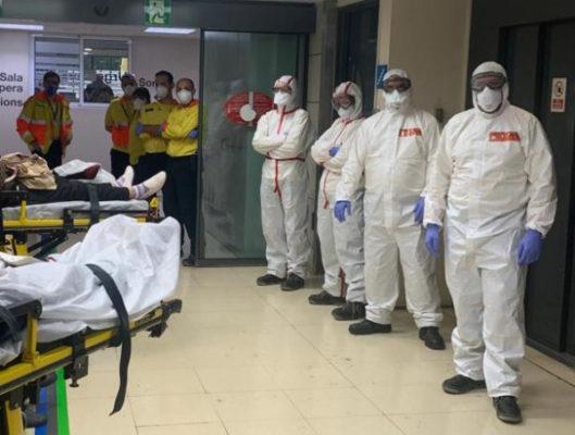 La Bustia sanitaris coronavirus Hospital Martorell