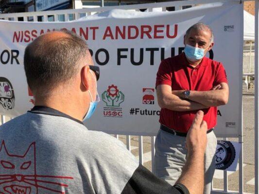 La Bustia Nissan alcalde Sant Andreu
