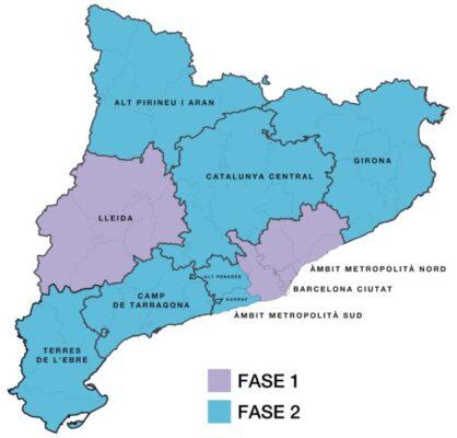 La Bustia Salut fase 1 i 2 Catalunya
