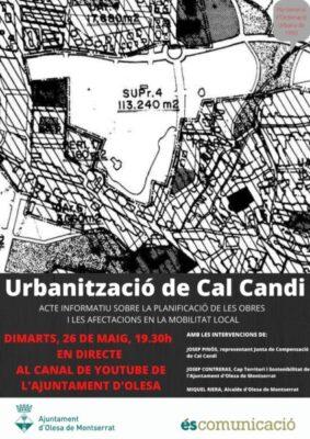 La Bustia cartell acte Cal Candi Olesa