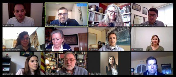 La Bustia comite impuls socioeconomic Baix Llobregat