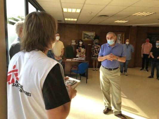 La Bustia metges sense fronteres govern Sant Andreu