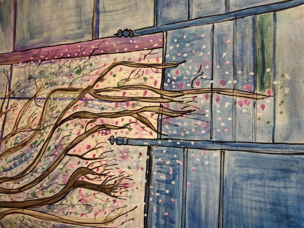 La Bustia pintura Joana Llordella 3commonhopes Esparreguera