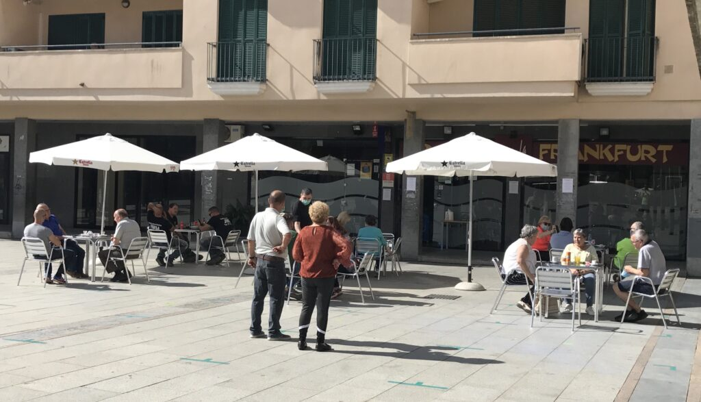 La Bustia terrassa bar Olesa