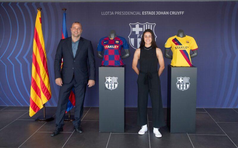 La Bustia Jana Fernandez Sant Esteve signa Barça