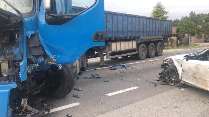 La Bustia accident transit Sant Esteve