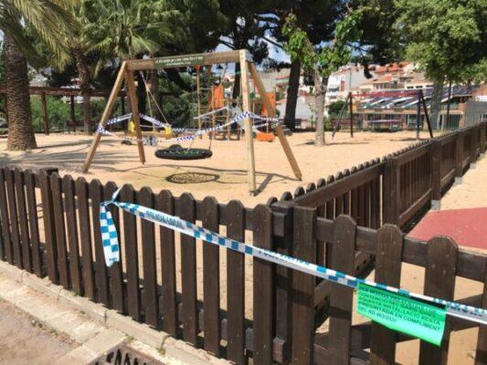 La Bustia millora parcs infantils Olesa credit Diputacio