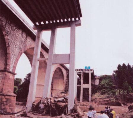 La Bustia pont magarola aiguat 10 juny 2000 Esparreguera