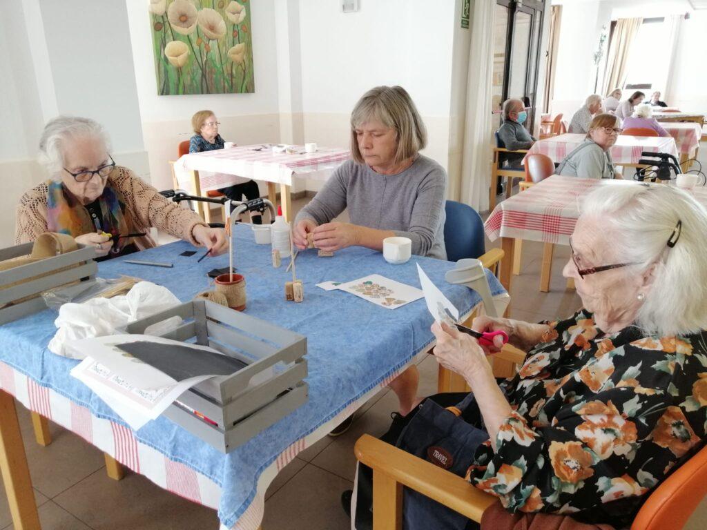 La Bustia residencia Can Serra visites familiars