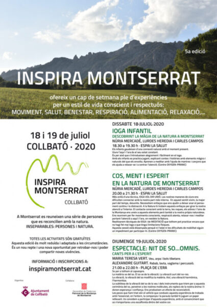 La Bustia Inpira Montserrat programa