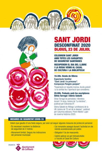 La Bustia Sant Jordi Collbato cartell