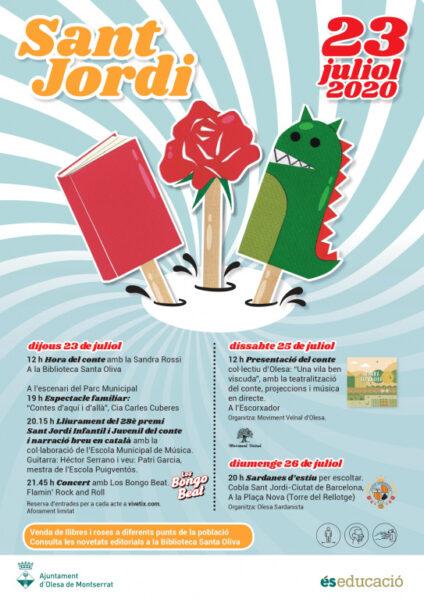 La Bustia Sant Jordi Olesa cartell
