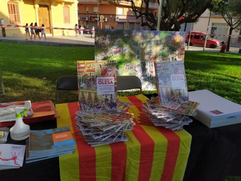 La Bustia Sant Jordi estiu parada llibreria Nuria Olesa