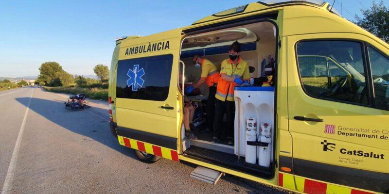 La Bustia accident Jesus Ruiz Esparreguera