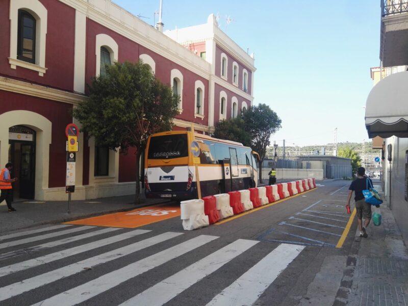 La Bustia autobusos estacio Martorell