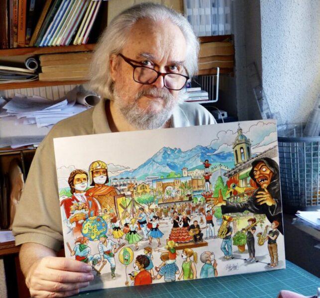 La Bustia cartell festa major Esparreguera Isidre Mones