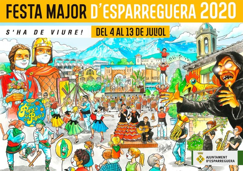 La Bustia cartell festa major Esparreguera