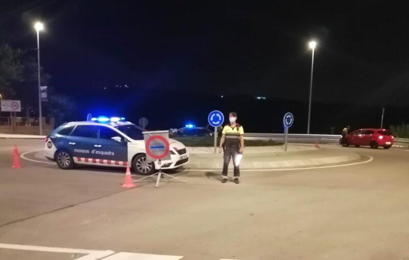 La Bustia control policial Abrera Ullastrell