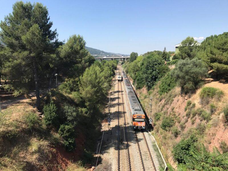 La Bustia corredor mediterrani Martorell