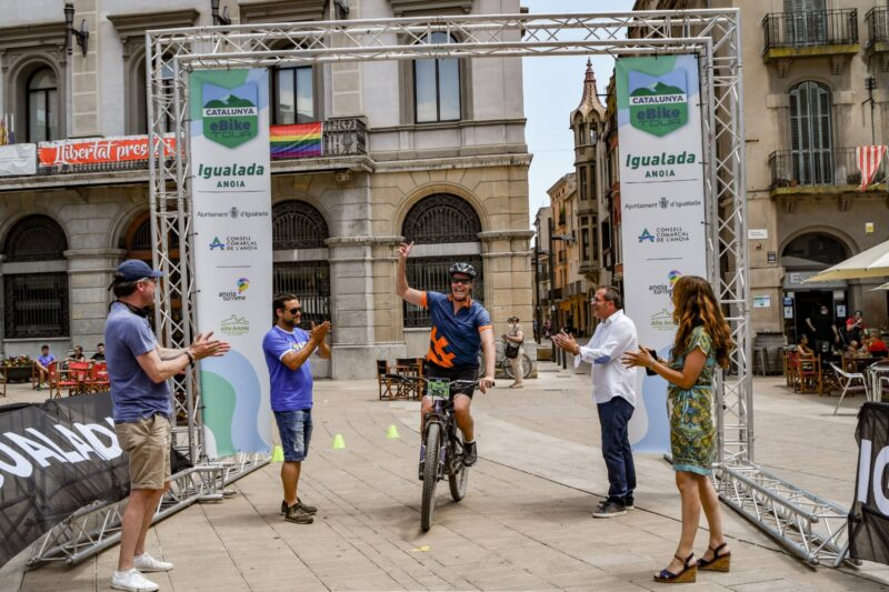 La Bustia e bike tour Anoia Turisme