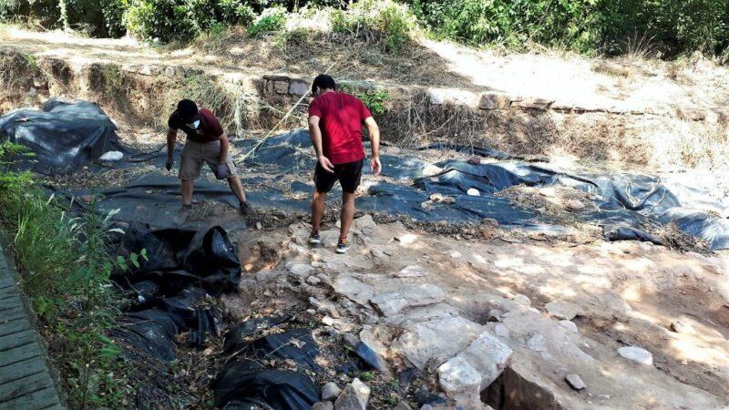 La Bustia excavacions Santa Margarida