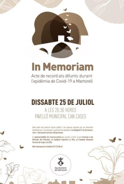 La Bustia homenatge covid19 Martorell