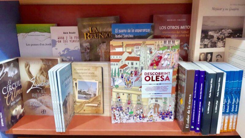 La Bustia llibres autors locals Olesa Sant Jordi estiu 2020