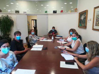 La Bustia reunio Ajuntament i CAP Olesa