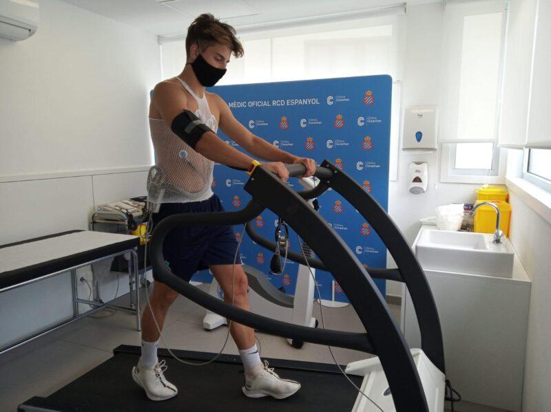 La Bustia Julian Mahicas proves mediques Espanyol