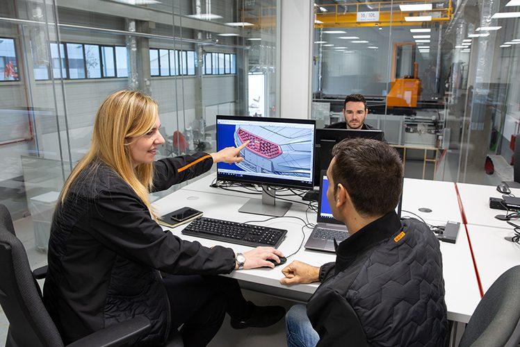 La Bustia Seat Centre de Desenvolupament de Prototips