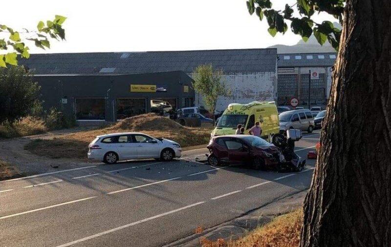 La Bustia accident multiple Olesa