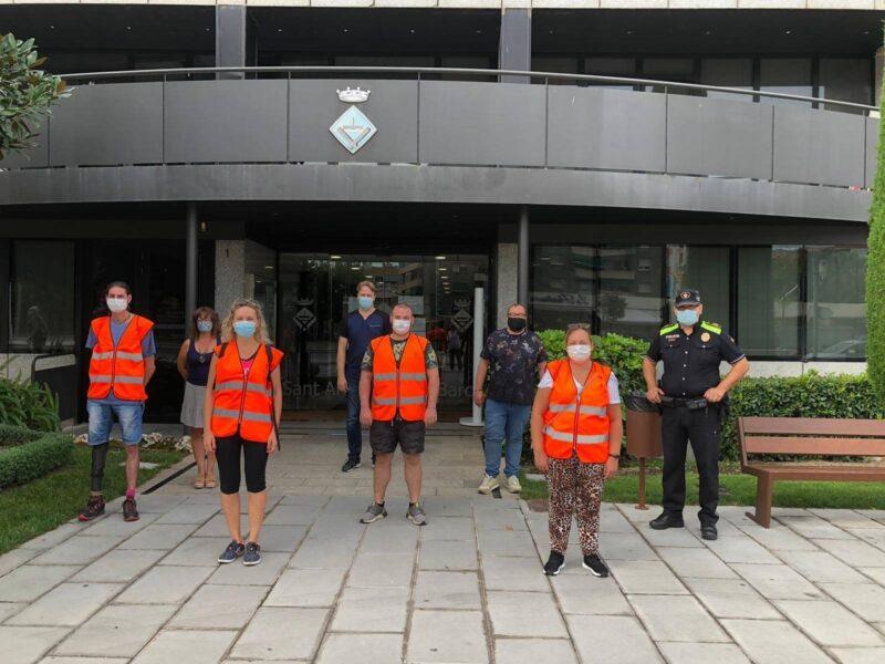 La Bustia agents civics Sant Andreu
