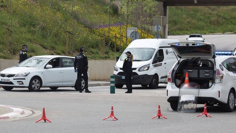 La Bustia control Policia Local Olesa