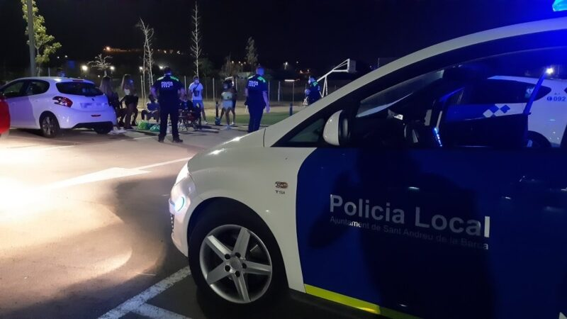 La Bustia control Policia Local Sant Andreu 3