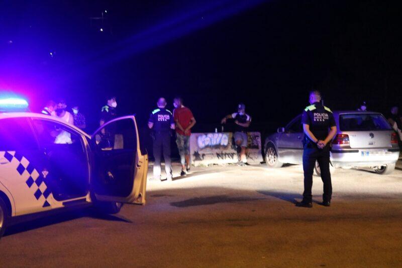 La Bustia control Policia Local Sant Andreu