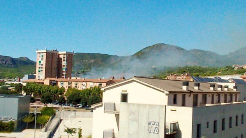 La Bustia incendi Olesa Sant Bernat
