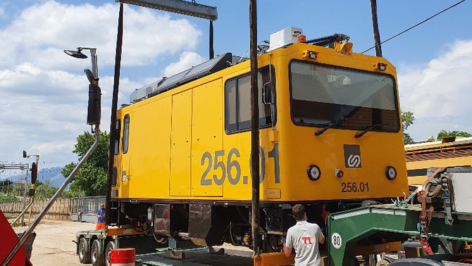 La Bustia locomotora Baix Llobregat Anoia